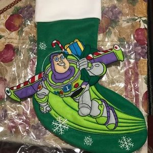 Buzz Lightyear Light-Up Christmas Stocking